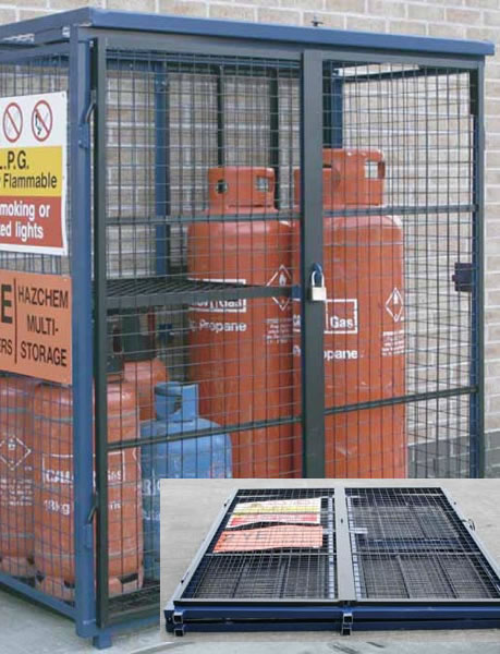 Hasp And Staple >> Gas Cage - South West Hire and Sales