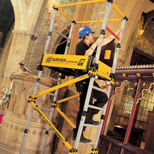 Razor Deck Adj Platform South West Hire And Sales